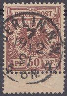 ALLEMAGNE -  DEUTSCHLAND - GERMANIA - 1889 - Yvert  50 Obliterato. - Oblitérés