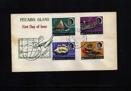 Pitcairn Islands 1964 Interesting Cover - Pitcairn