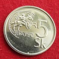 Slovakia 5 Koruna 1994 KM# 14  Eslovaquia Slovaquie Slowakije - Eslovaquia