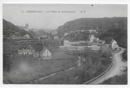 Cherbourg - La Vallee De Quincampoix - G.F. 17 - Dos Simple - Cherbourg