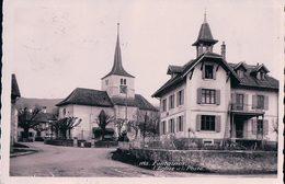Fontaines VD, L'Eglise Et Bureau De Poste (1115) - VD Vaud