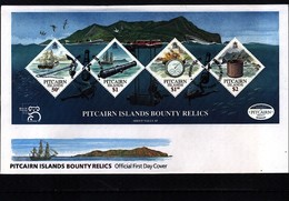 Pitcairn Islands 1999 Bounty Relics Block - Pitcairn