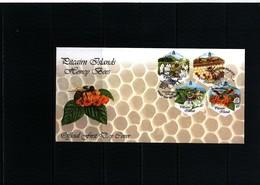 Pitcairn Islands 1999 Honey Bees FDC - Abeilles