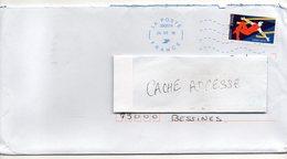 """2018--tp Adhésif """" Cirque """" Seul Sur Lettre--  Cachet  Néopost - Marcophilie (Lettres)"""
