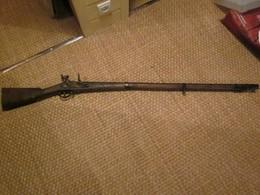 Reproduction Fusil à Siliex Type 1777 - Armes Neutralisées