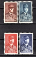 FRANCE 1941 - SERIE 4 TP NEUFS** Y.T. N° 470 A 473 - Neufs