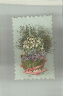 CHROMO  DECOUPI   Vase De Fleurs    Jan 2019 Caniv - Fleurs