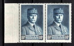FRANCE 1941 - PAIRE Y.T. N° 471  - NEUFS** - Neufs
