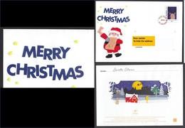 France, 2018, Vers Canada, VERSION ANGLAISE, Entier Postal, Lettre Du Père-noël, Noël, Santa Claus Letter, Lapin, Rabbit - Noël