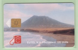 Netherlands Antilles - St Eustatius - 1996 Scenes - 120u The Quill - STAT-C2a - VFU - Antille (Olandesi)