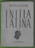 Braga - Coimbra - Initia Latina - Latim - Livro Escolar - Bücher, Zeitschriften, Comics