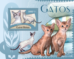 Guinea Bissau 2012 Cats Fauna - Guinea-Bissau