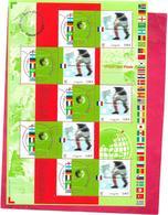 BLOC Neuf Non Plié Championnat Du Monde Match D'ouverture FRANCE-SÉNÉGAL 31 Mai 2002  - - Blocs & Feuillets