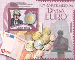 Guinea Bissau 2012 10th Anniversary Euro Currency , Willem Frederic - Guinea-Bissau