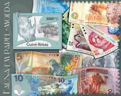 Guinea Bissau 2012 Paper Money ( Fauna ) - Guinea-Bissau