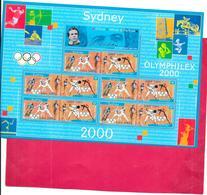 BLOC Neuf Non Plié  OLYMPHILEX 2000  - Jeux Olympique SIDNEY - - Blocs & Feuillets