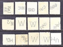 U.S.   610 +  PERFINS - Perfins