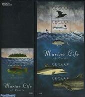Tuvalu 2011 Marine Life 2 S/s, (Mint NH), Nature - Birds - Fish - Sea Mammals - Tuvalu