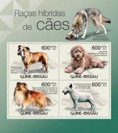 Guinea Bissau 2012  Hybrid Dogs , Fauna - Guinea-Bissau