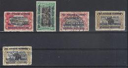Ruanda- Urundi N°s 29*,30*,32,34*,34    (1916) - Ruanda-Urundi