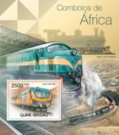 Guinea Bissau 2012  Trains Of Africa - Guinea-Bissau