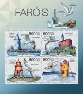 Guinea Bissau 2012  Lighthouses & Birds - Guinea-Bissau