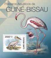 Guinea Bissau 2012 Waterbirds Of Guinea Bissau, Fauna - Guinea-Bissau