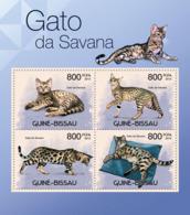 Guinea Bissau 2012 Fauna  Cats Of Savana - Guinea-Bissau