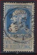 Nr. 76 Met ZELDZAME DEPOTS - RELAIS Afstempeling Van OOST - NIEUWKERKE ; Staat Zie 2 Scans ! - 1905 Grosse Barbe
