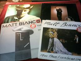 MATT  BIANCO  ° COLLECTION DE 9 VINYLES °°  6 MAXIS 45 TOURS + 3 / 33 TOURS - 45 Rpm - Maxi-Single