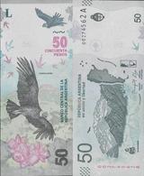 Argentina 2018 - 50 Pesos Pick-NEW UNC New Design - Argentine