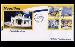 Mauritius 2005 FDC - Postal Services - Maurice (1968-...)