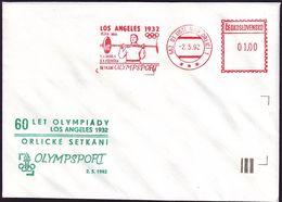 Czechoslovakia - 1992 F - Olympic Medallist 1932 - Cover - Summer 1932: Los Angeles