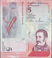 Venezuela 2018 - 5 Bolivares Soberano - Pick NEW UNC - Venezuela
