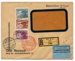Nr. 500 Gute MIF Luftpostbrief/Einschreiben 1933 Nach Berlin-Reinickendorf - Briefe U. Dokumente