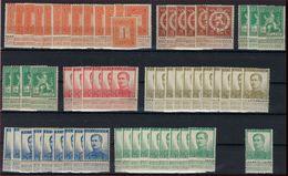 Lot PELLENS  ** MNH Postfris Zonder Plakker , Laatste Zegel Met Variëteit ; Zie 3 Scans ! Inzet 10 € ! - 1912 Pellens