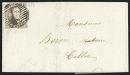 L.affr.N°6 Obl Rurale Pour Tellin ( Distribuable Dans La Même Tournée ) , - 1851-1857 Médaillons (6/8)