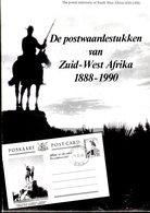 Quik/ Stolk : The Postalstationery Of South Africa 1888-1990 ENglish/DEutch - Littérature