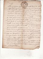 Gen Auch 25 Avril  1755 Eaux Et Forets Commenge St Gaudens Procée Verbal Visite Foret Sauveterre 3 Scans - Cachets Généralité