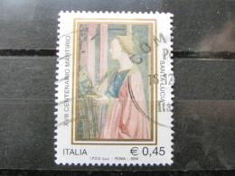 *ITALIA* USATI 2004 - 17° CENT SANTA LUCIA - SASSONE 2791 - LUSSO/FIOR DI STAMPA - 6. 1946-.. Repubblica