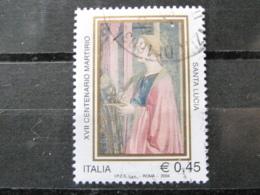 *ITALIA* USATI 2004 - 17° CENT SANTA LUCIA - SASSONE 2791 - LUSSO/FIOR DI STAMPA - 1946-.. Republiek