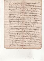 Gen Auch 17 Sept 1786 Eux Et Forets Departement Guyenne Concerne Le Bois Que Possede La Ville De St Gaudens 4 Scans - Cachets Généralité
