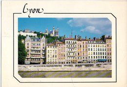 Lyon Les Quais De Saone Et Fourviere 1990   CPM Ou CPSM - Lyon