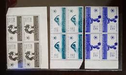 Thailand Stamp 1966 5th Asian Games Bangkok (1.0 - 1.25 - 2.0 Baht) BLK4 MNH OG - Thaïlande