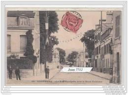 5529 D92N AK/PC/CPA NANTERRE LA RUE GAMBETTA VERS LE MONT VALERIEN/1906/TTB - Nanterre