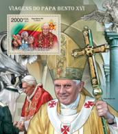 Guinea Bissau 2012 Pope Benedict XVI Traveling - Guinea-Bissau