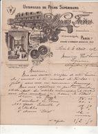 Ustensiles De Peche Superieurs Wyers Frères 30 Quai Du Louvre Paris 1er 1912 - Textile & Vestimentaire