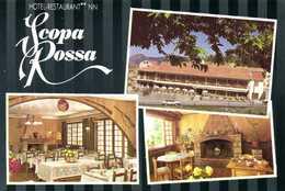 EVISA Hotel Restaurant Scopa Rossa Multivues Colorisée RV - Autres Communes