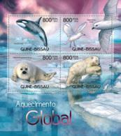 Guinea Bissau 2012 Global Warming Polar Bear Fauna - Guinea-Bissau