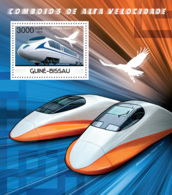 Guinea Bissau 2012 Speed Trains - Guinea-Bissau